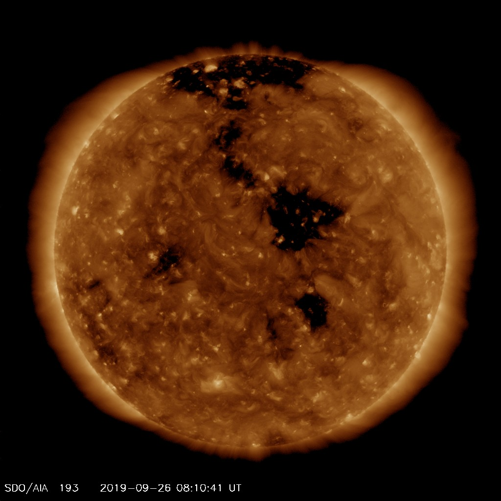 Space Weather Alert – 26th September 2019