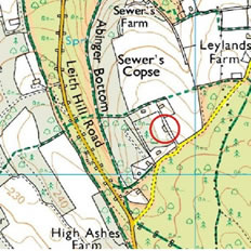 Map of Abinger Observatory Location